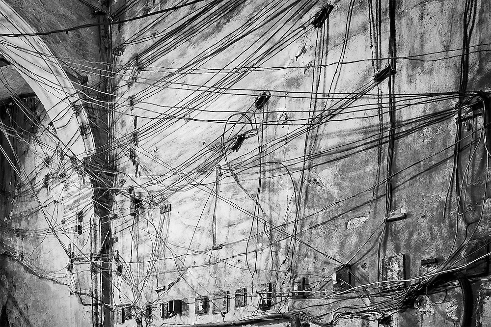 Electricity Wall, Havana