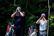 25-05-2019 Foto's van dag 2 van het Lauswolt Open 2019, gespeeld op Golf & Country Club Lauswolt in Beetsterzwaag, Friesland.<br /> SCHUT, Arjan (a) - SLUNGERS, Bas