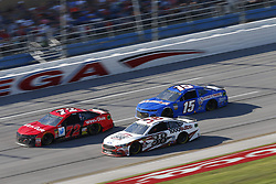 October 14, 2018 - Talladega, Alabama, United States of America - Ross Chastain (15) battles for position during the 1000Bulbs.com 500 at Talladega Superspeedway in Talladega, Alabama. (Credit Image: © Justin R. Noe Asp Inc/ASP via ZUMA Wire)