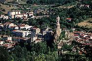 France. Puy en Velay. massif central. landscape     /  Massif central  le Puy en Velay  France