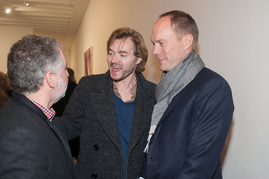 HARLAND MILLER; HARRY BLAIN, This is not an Exit. Mat Collishaw. Blain Southern. Hanover Sq. London. 13 February 2013.