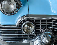 Classic Buick grill, repeated circles, Loveland CO