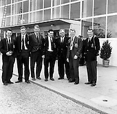 Rugby 1961-08/05 Irish Team Leaves for South Africa