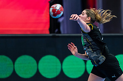 Marlene Zapf of Germany in action during the Women's EHF Euro 2020 match between Netherlands and Germany at Sydbank Arena on december 14, 2020 in Kolding, Denmark (Photo by RHF Agency/Ronald Hoogendoorn)