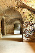 old cave in historic building