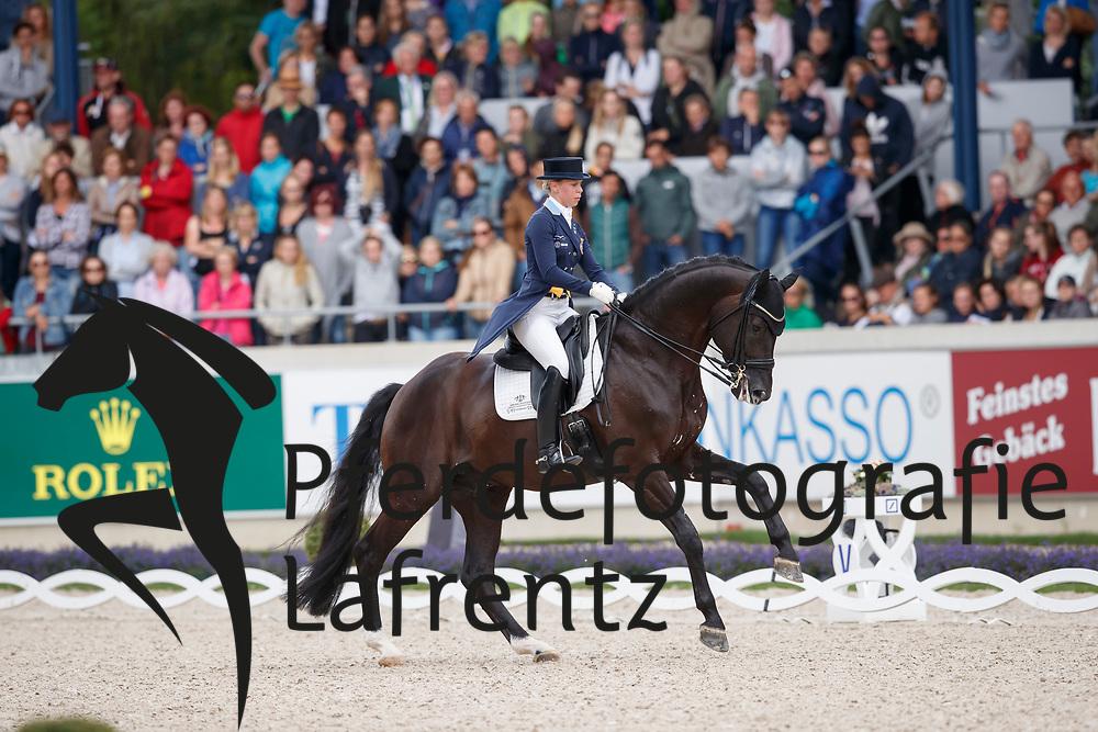 Nilshagen, Therese (SWE), Dante Weltino OLD<br /> Aachen - CHIO 2017<br /> Grand Prix Kür, Grosser Dressurpreis von Aachen<br /> © www.sportfotos-lafrentz.de/Stefan Lafrentz