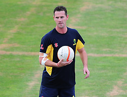 Shaun Tait of Glamorgan looks on.  - Mandatory by-line: Alex Davidson/JMP - 22/07/2016 - CRICKET - Th SSE Swalec Stadium - Cardiff, United Kingdom - Glamorgan v Somerset - NatWest T20 Blast