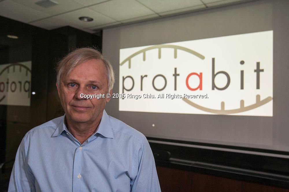 Barry Olafson, Chief Executive and cofounder of Protabit, a computational protein design company in Pasadena.<br /> (Photo by Ringo Chiu/PHOTOFORMULA.com)