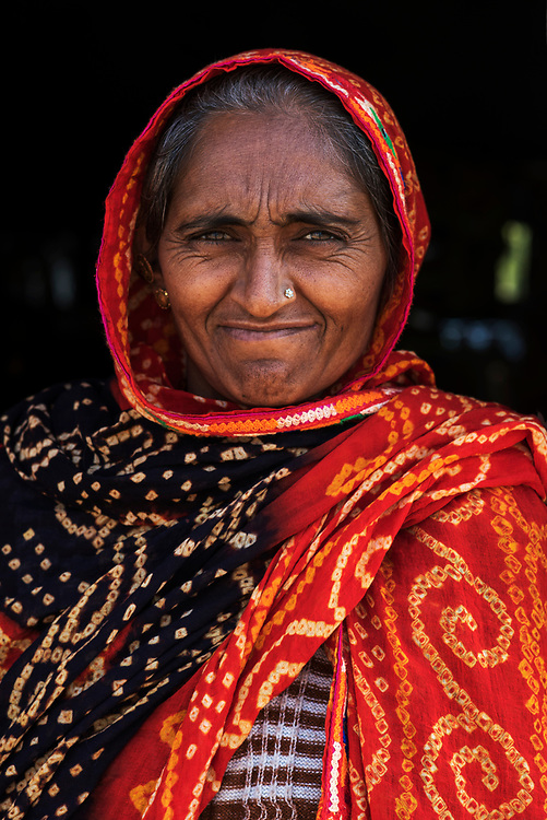 Pilgrim lady, Dharamsala, Himachal Pradesh, India