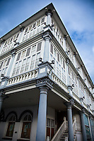 Sarawak Textile Museum in Kuching, Sarawak.