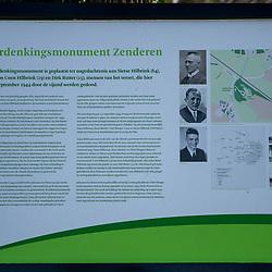 08-04-2020: Nieuws: Stockfotos: Nederland<br /> Verzetsmomnument bij Villa Lidwina in Zenderen