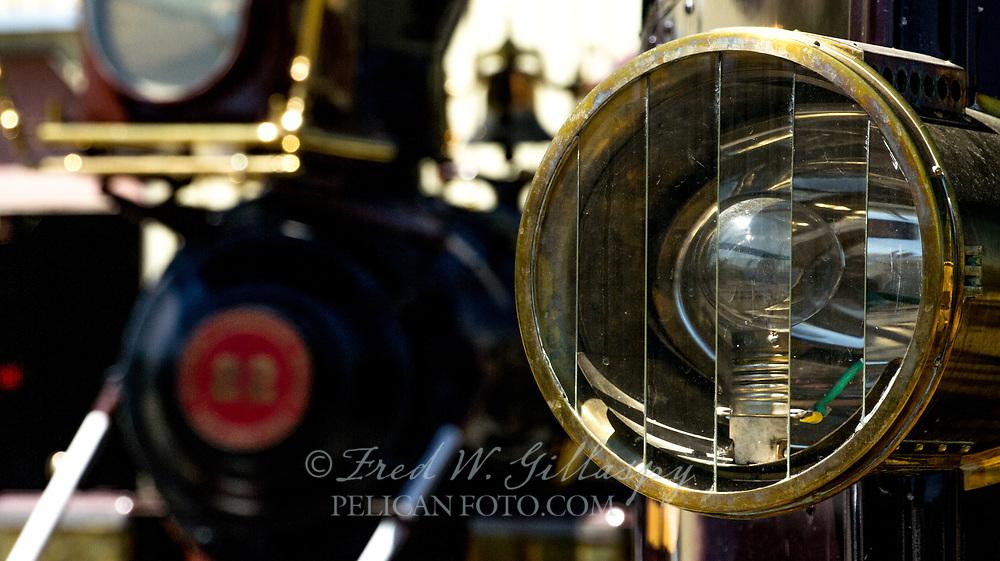 Baldwin Locomotive Inyo 22 & McKeen Motor Car 22, Nevada State Railroad Museum, Nevada Carson City