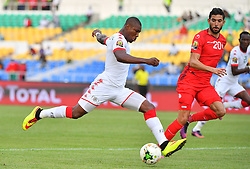 Burkina 's Nakoulma during the 2017 Africa Cup of Nations (CAN) quart de finale match Burkina Faso vs Tunisie held at Stade de l'Amitie in Libreville, Gabon on January 28, 2017. Photo by Christian Liewig/ABACAPRESS.COM