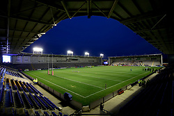 General view inside the Halliwell Jones Stadium before the Betfred Super League match at The Halliwell Jones Stadium, Warrington.