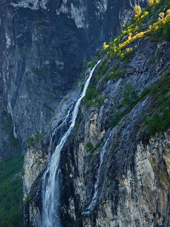Norway - Vermafossen in Romsdal's valley