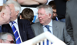 Sir Alex Ferguson in the stands at the ABAX Stadium - Mandatory by-line: Joe Dent/JMP - 22/04/2019 - FOOTBALL - ABAX Stadium - Peterborough, England - Peterborough United v Sunderland - Sky Bet League One