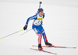 11.12.2010, Biathlonzentrum, Obertilliach, AUT, Biathlon Austriacup, Sprint Lady, im Bild Daria Virolainen (RUS, #77). EXPA Pictures © 2010, PhotoCredit: EXPA/ J. Groder