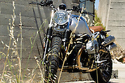 BMW Motorrad South Africa launched the new BMW RnineT Scrambler to the media. Image by Greg Beadle
