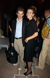 AMBER NUTTALL and TOM AIKENS at a party hosted by Dom Perignon at Sketch, Conduit Street, London on 18th October 2006.<br /><br />NON EXCLUSIVE - WORLD RIGHTS