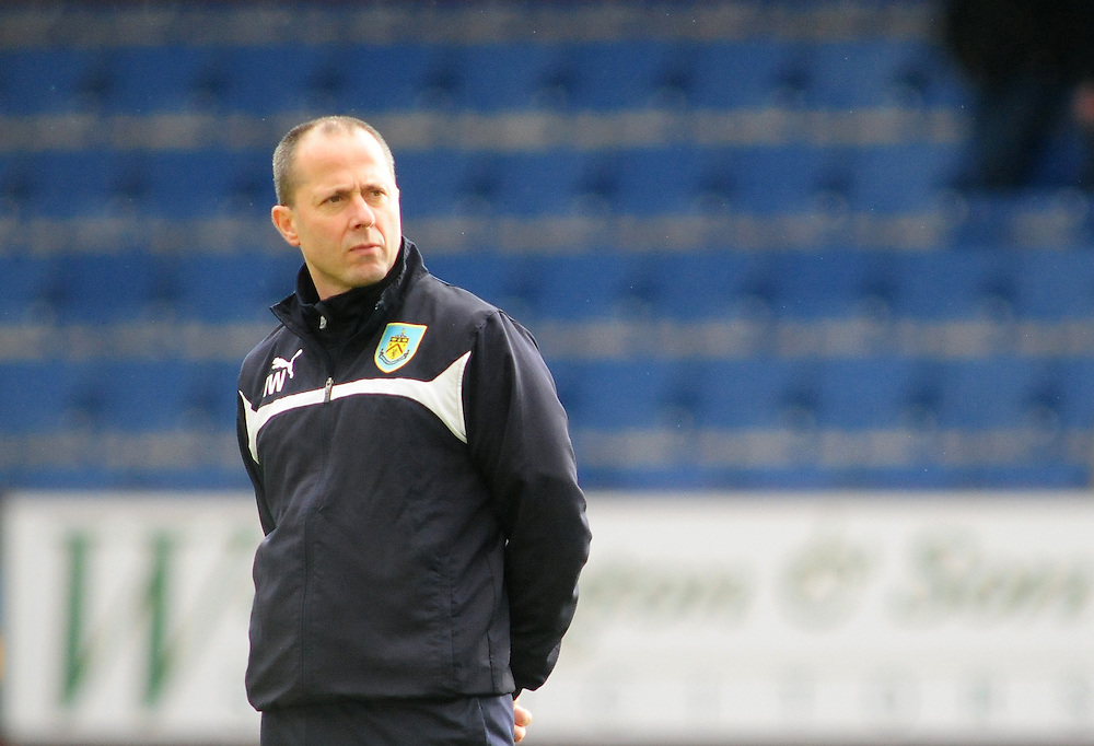 Burnley's Assistant manager Ian Woan during the pre-match warm-up <br /> <br /> Photographer Chris Vaughan/CameraSport<br /> <br /> Football - Barclays Premiership - Burnley v Crystal Palace - Saturday 17th January 2015 - Turf Moor - Burnley<br /> <br /> © CameraSport - 43 Linden Ave. Countesthorpe. Leicester. England. LE8 5PG - Tel: +44 (0) 116 277 4147 - admin@camerasport.com - www.camerasport.com