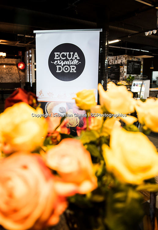 Exquisite Ecuador an event showcasing some of Ecuador's most delicious foods, ingredients and other products. Venue Majestic Gourmet Grocer in Petersham Sydney. Event organizer LatinPR