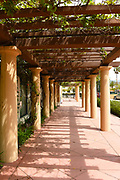 Colonnade at The Reagan Ranch Center in the Heart of Downtown Santa Barbara