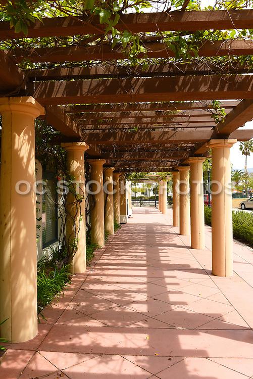 Colonnade at The Reagan Ranch Center in the Heart of Downtown Santa Barbara