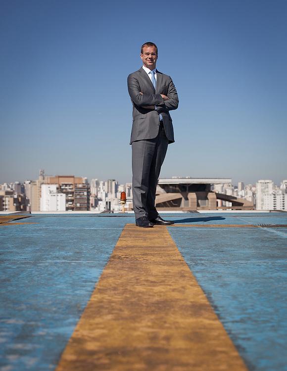 Sao Paulo_SP, Brasil.<br /> <br /> Retrato de Stephan Keese, socio lider da pratica de Automotive da Roland Berger Strategy Consultants para America Latina.<br /> <br /> Stephan Keese he is a partner of Roland Berger Strategy Consultants of America Latina.<br /> <br /> Foto: RICARDO NOGUEIRA / NITRO