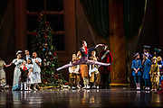 Bay Pointe Ballet performs The Nutcracker during a dress rehearsal at the San Mateo Performing Arts Center in San Mateo, California, on December 15, 2016. (Stan Olszewski/SOSKIphoto)
