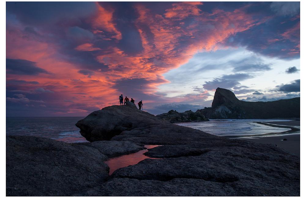 Castle Rock, Wairarapa.