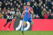 Crystal Palace midfielder Andros Townsend (10) during The FA Cup 3rd round match between Crystal Palace and Grimsby Town FC at Selhurst Park, London, England on 5 January 2019.
