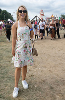 Katie Piper  at the Big Feastival 2021 on Alex James Cotswolds farm, Kingham oxfordshire