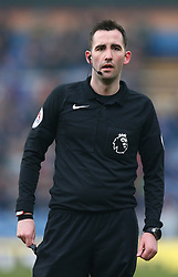 Referee Chris Kavanagh during the Premier League match at Turf Moor, Burnley.