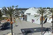High Angle View of Anaheim Ice Arena