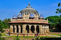 Inde, Delhi, tombe de l'empereur Moghol Humayun, Unesco, tombe de Isa Khan // India, Delhi, Humayun Mausoleum, Unesco world heritage, Isa Khan's Tomb