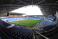 A view of Cardiff City's newly relaid pitch before the match. Skybet football league championship match, Cardiff city v Rotherham Utd at the Cardiff city stadium in Cardiff, South Wales on Saturday 23rd January 2016.<br /> pic by Carl Robertson, Andrew Orchard sports photography.