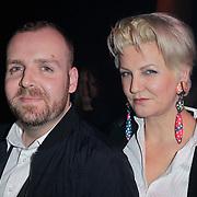 NLD/Amsterdam/20120124 - Modeshow Cold Method 5 jaar, Dieter de Cock n Marianne Vekerk