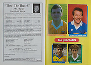 All Ireland Senior Hurling Championship Final,.03.09.1989, 09.03.1989, 3rd September 1989, .Antrim v Tipperary, .03091989AISHCF,.Tipperary 4-24, Antrim 3-9,..Captains, Ciaran Barr, Antrim, Bobby Ryan, Tipperary, Paul Lee, Clare, Brian Wheelehan, Offaly,