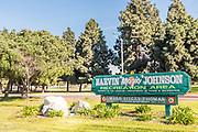 Earvin Magic Johnson Recreation Area Signage