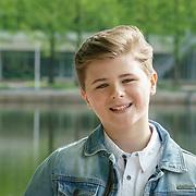 NLD/Amsterdam/20190501 - Perspresentatie cast Onze Jongens in Miami, Matthieu Hinzen