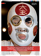 """""""Doglegs"""" disabled wresting group. For Able Magazine, August 2009."""