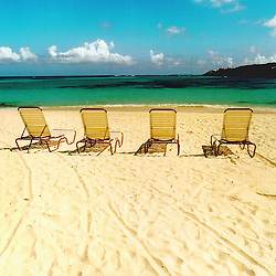 Beach Chairs on the Beaches of Anguilla, British West Indies Caribbean Beach Stock imagery, Anguilla British West Indies