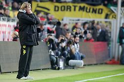 22.10.2011, SIGNAL IDUNA Park Dortmund, Dortmund, GER, 1.FBL, Borussia Dortmund vs 1. FC Köln / Koeln, im Bild Jürgen Klopp (Trainer Dortmund) haelt sich erschreckt die Haende vors Gesicht....// during the 1.FBL,  Borussia Dortmund vs 1. FC Köln / Koeln on 2011/10/22,  SIGNAL IDUNA Park Dortmund, Dortmund, Germany. EXPA Pictures © 2011, PhotoCredit: EXPA/ nph/  Herbst       ****** out of GER / CRO  / BEL ******