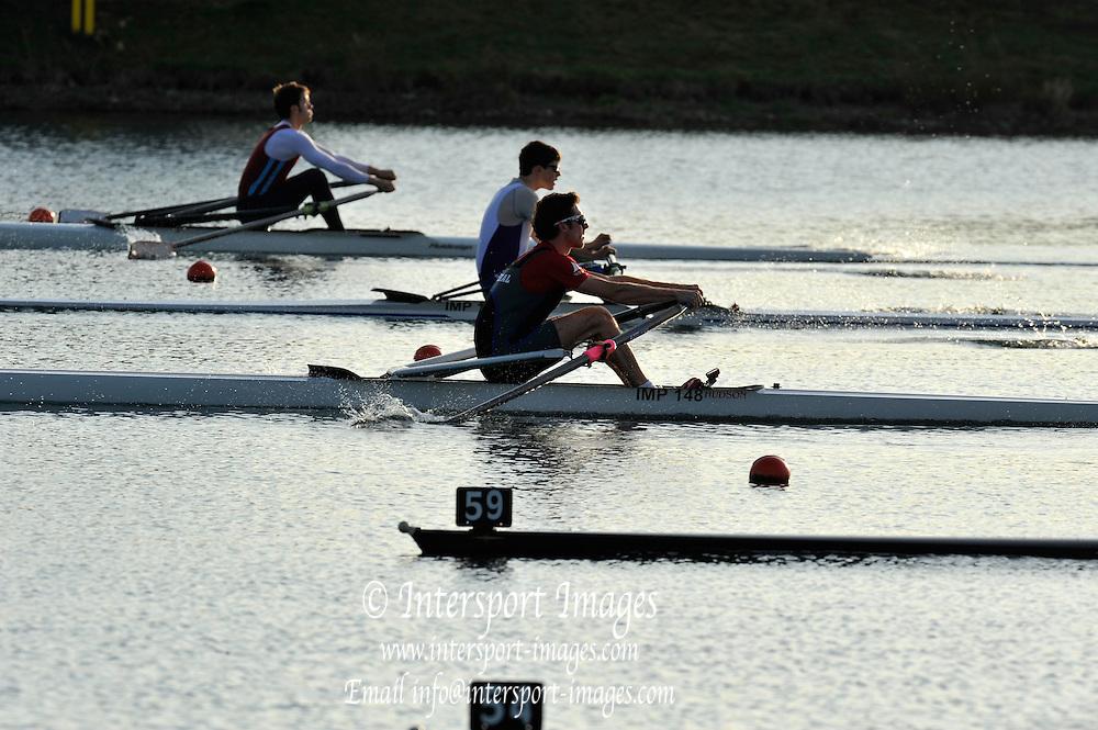 Eton, United Kingdom  Men's Lightweight singles Semi Final, Adam FREEMAN-PASK.  2012 GB Rowing Trials, Dorney Lake. Near Windsor Berks Saturday  10/03/2012  [Mandatory Credit; Peter Spurrier/Intersport-images]