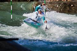 Luka BOZIC (SLO) during Canoe Finals at World Cup Tacen, 18 October 2020, Tacen, Ljubljana Slovenia. Photo by Grega Valancic / Sportida