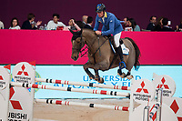 Rider Christian Ahlmann and his horse Tokyo during Madrid Horse Week at Ifema in Madrid, Spain. November 26, 2017. (ALTERPHOTOS/Borja B.Hojas)