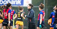 BILTHOVEN  - Hockey -  1e wedstrijd Play Offs dames. SCHC-Den Bosch (0-1). coach Tina Bachmann (SCHC)    COPYRIGHT KOEN SUYK