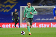 Everton midfielder Gylfi Sigurdsson (10) during the Premier League match between Brighton and Hove Albion and Everton at the American Express Community Stadium, Brighton and Hove, England UK on 12 April 2021.