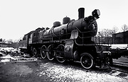 Railway Train in Estonia - USSR - 1988