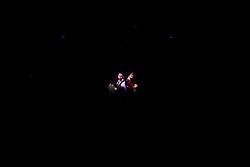 """21.11.2016, Schubert Theater, Wien, AUT, Zaubershow, Die Ehrlichen Betrüger - Catch Us If You Can, im Bild Philipp Tawfik mit einem Zuschauer// during the magic show """"Die Ehrlichen Betrüger - Catch Us If You Can"""" at the Schubert Theater, Vienna, Austria on 2016/11/21, EXPA Pictures © 2016, PhotoCredit: EXPA/ Sebastian Pucher"""